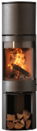 Purevision 5 Panoramic Cylinder Stove with Heat Exchanger